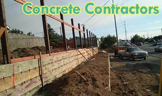 Concrete Contractors in Napa, CA